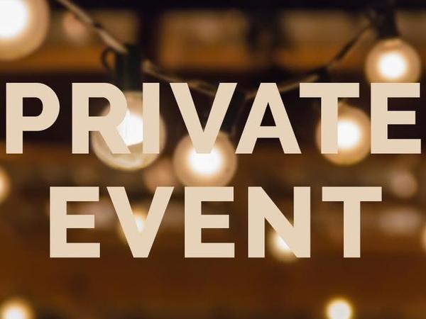 Private Event- Piano Recital